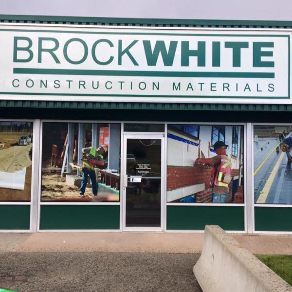Brock White Sign